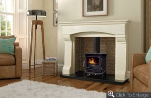 Henley Athens stove in modern living room