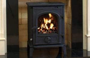 Free stanging cast iron stove